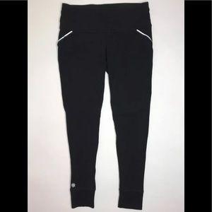 Athleta Leggings Women Small Ankle Length Black